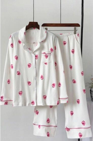 Strawberry Pajamas