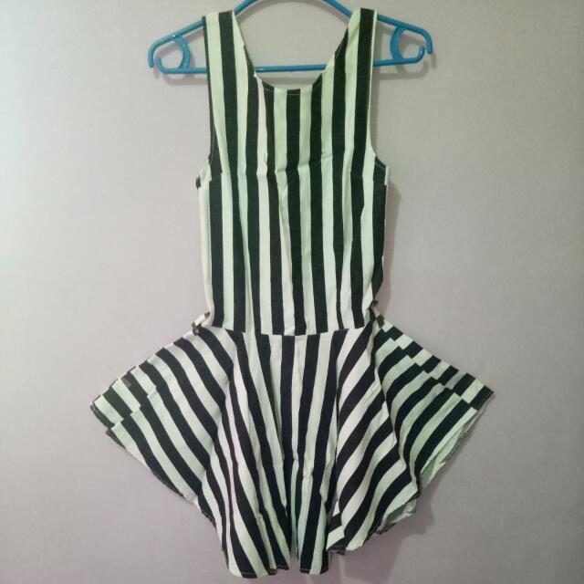 Stripe Retro Dress