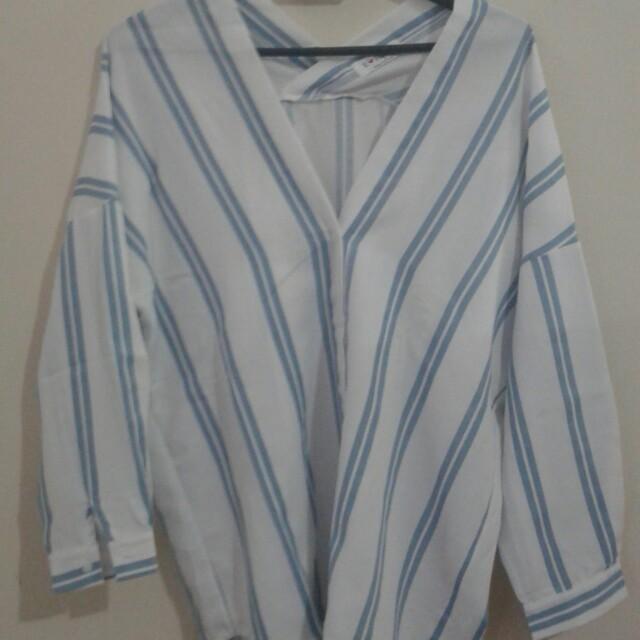 Stripe Woman Shirt