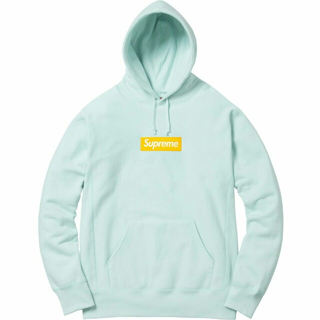 SUPREME BOX LOGO HOODED SWEATSHIRT FW17