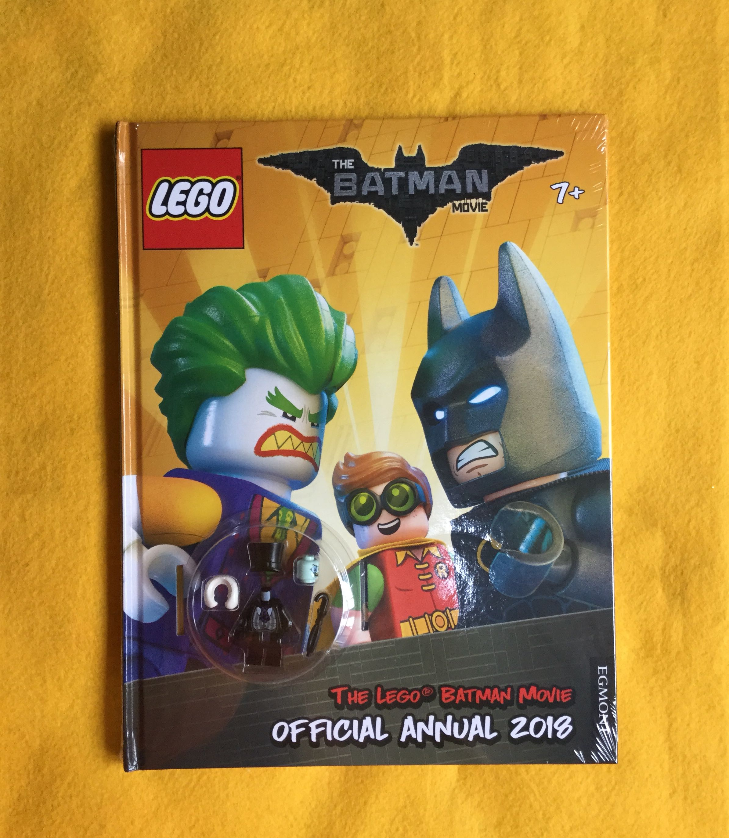 🆕The LEGO (R) BATMAN MOVIE: Official Annual 2018 (Egmont Annuals 2018)