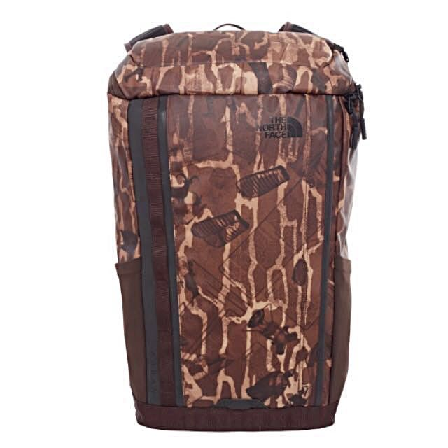 The North Face Base Camp Kaban Charged Haversack | Backpack | BRUNETTE BROWN CATALOG PRINT