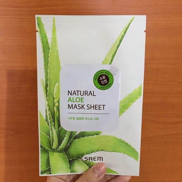 The Saem Aloe Mask