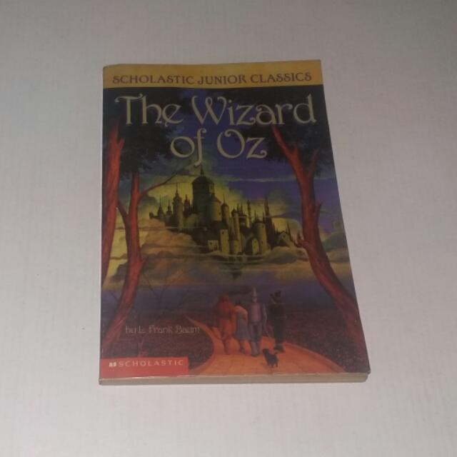 The Wizard Of Oz Book By Scholastic Junior Classics