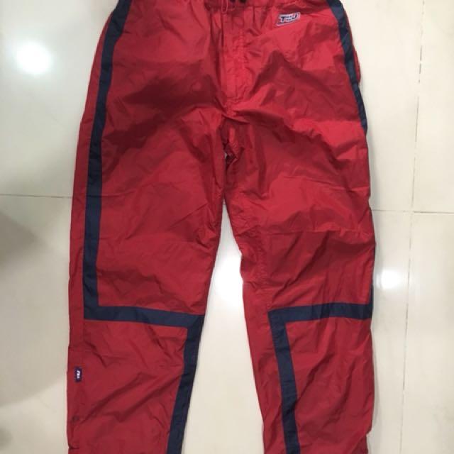 TOMMY JEANS 紅色運動褲 古著 老品 vintage