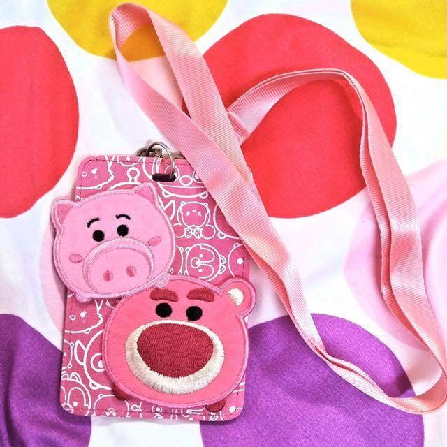 Tsum Tsum熊抱哥 豬排博士 票卡夾 火腿豬 玩具總動員 迪士尼