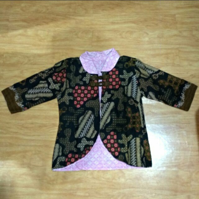 👕Two Sides Batik Blazer | Atasan Formal Batik 2 Sisi