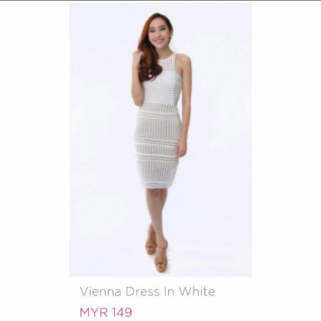 Vienna White Dress