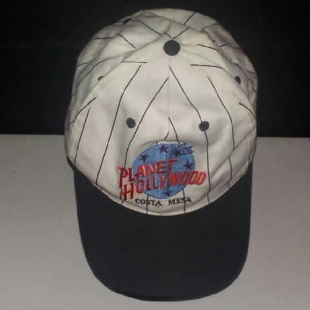 Vintage Planet Hollywood Costa Mesa Baseball Cap