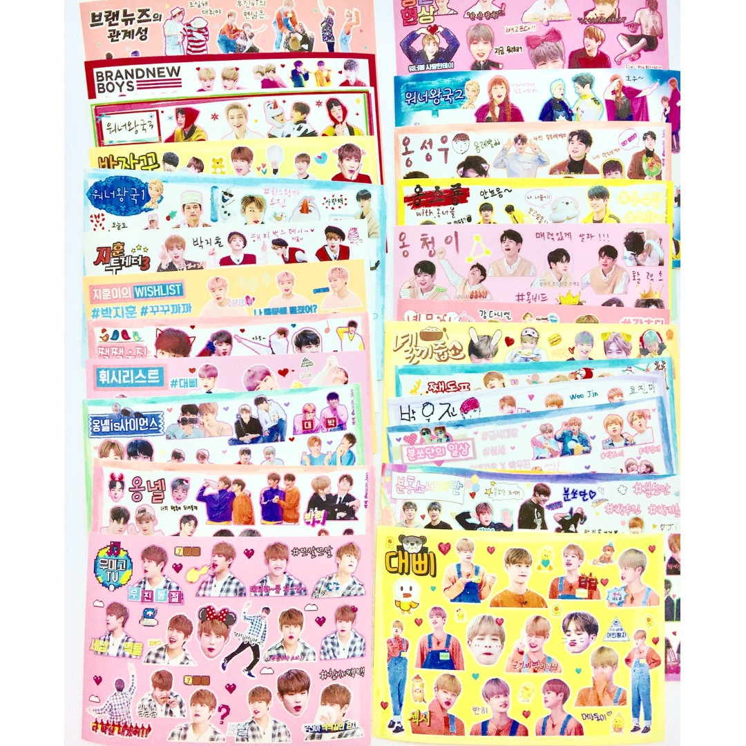 WANNA ONE sticker