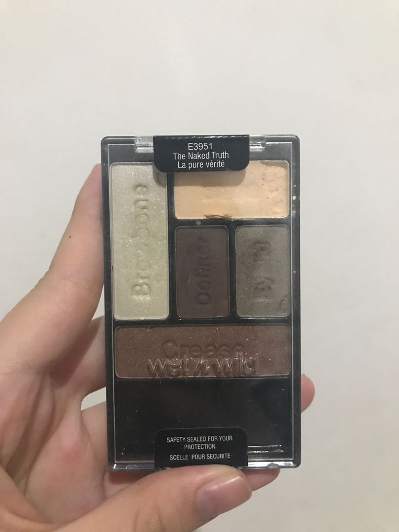 Wet n Wild Coloricon eyeshadow - The Naked Truth