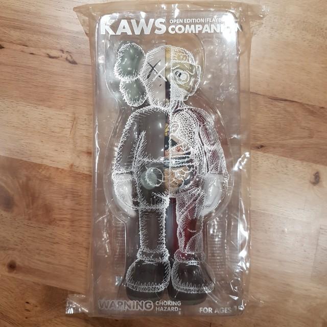 WTSWTT KAWS Brown Flayed Companion Toys Games Bricks - Free invoicing tool kaws online store