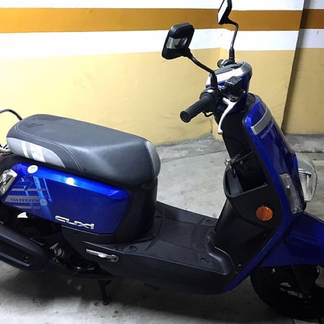 自售YAMAHA New CUXi 100 騎不到1萬2012.8