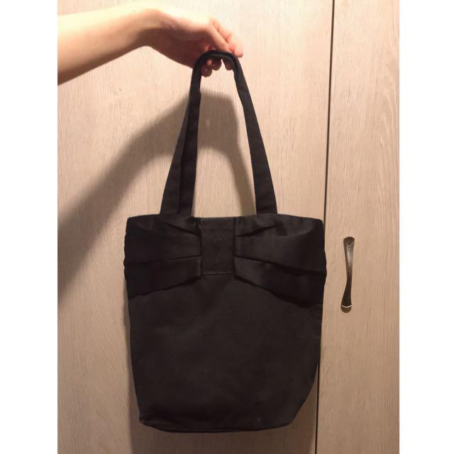 YSL 黑色布包