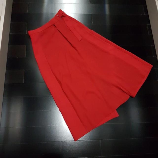 Zara Basic cullote pants