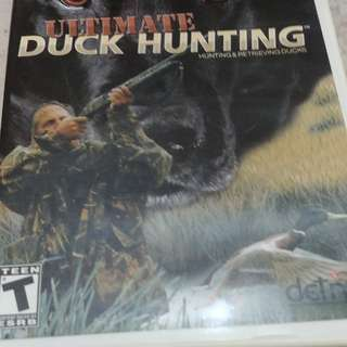 Wii game - Ultimate Duck Hunting