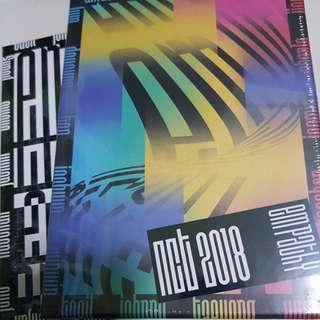 INSTOCK NCT 2018 EMPATHY UNSEALED ALBUMS