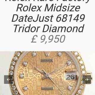 Rolex rare factor