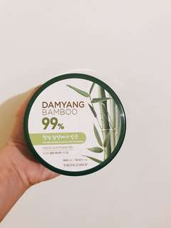 Bamboo fresh soothing gel (Face Shop)