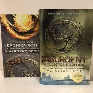 Insurgent Collector's Edition Hard Cover by Veronica Roth