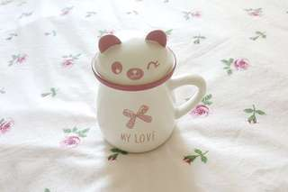 Pandan 3D cup Mug coffee gift cover