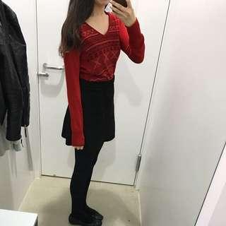 🚚 日本千金品牌mysty woman 紅色毛衣 ungrid snidel coco deal 小首爾商行