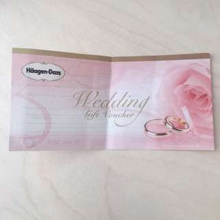 Haagen-Daz $50 gift voucher 哈根達斯$50現金雪糕劵