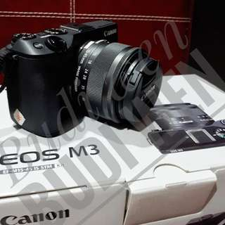 Canon M3 kits 18-55mm