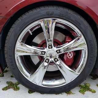 Lexus GS300 Front and Rear Brake Kit