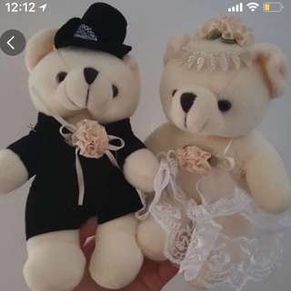 15cm Wedding Bears