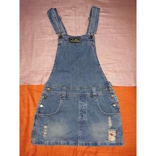 👗Denim Jumper Skirt