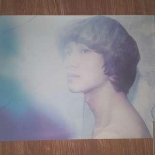 Shinee Onew Sherlock Poster