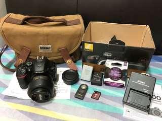 Nikon D 5500 + 35mm 1.8 G Lens