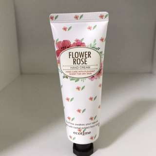 ecotime Flower Rose Hand Cream