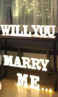 Proposal setup