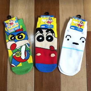PREORDER FOR 4DAYS ONLY!! DIRECT IMPORTED FROM JAPAN!! 100% AUTHETNIC CRAYON SHIN CHAN'S SOCKS!! ONLY AVAILABLE IN JAPAN!! SHIN CHAN'S FAN!! HURRY!! PO CLOSING REAL SOON!!