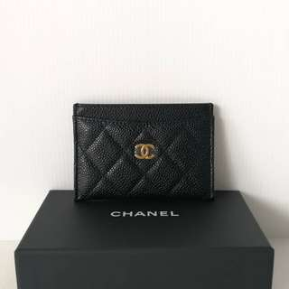 Authentic Chanel Classic Card Holder