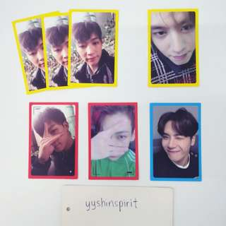 [WTT/WTS] GOT7 Eyes/On/You Version photocards