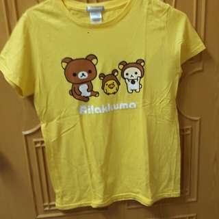 懶懶熊t恤
