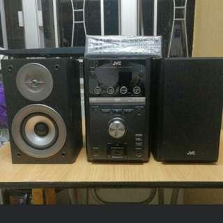 新淨Jvc 高質小型dvd音響組合 hifi