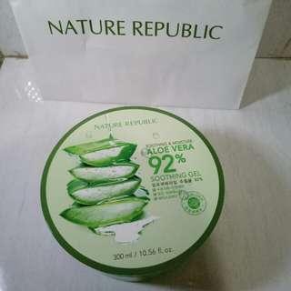 Jastip - Nature Republik Aloe Vera 92% Soothing gel
