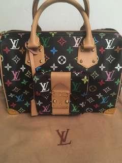 LV  multi colour handbag