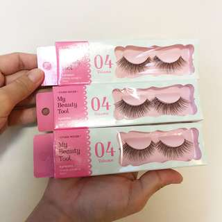 AUTHENTIC ETUDE HOUSE FALSE EYELASHES FROM KOREA