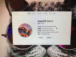 MacBook Pro 15吋