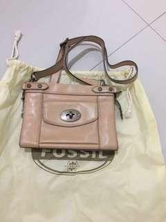 Fossil vintage sling bag authentic ( TDK NEGO )