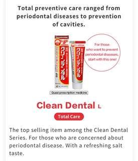 Japan Clean Dental top seller toothpaste