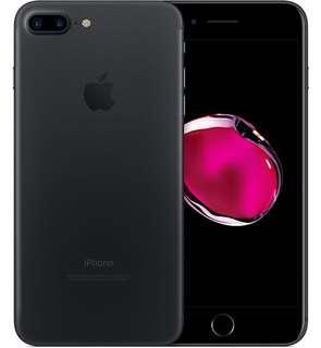 iPhone 7 Plus 256GB , Black / warranty of apple care around 11 months