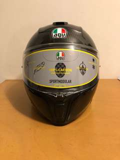 AGV Sportsmodular - Full Carbon Fiber Ultra Lightweight BNIB