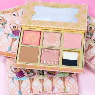 New!! Gold rush Benefit blush bar palette bnib