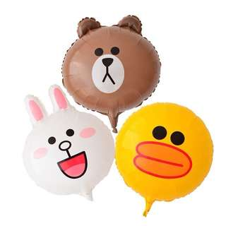 Line Friends foil Balloons